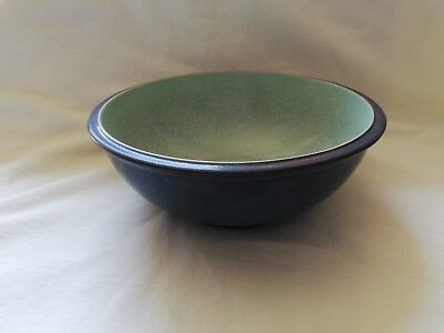 Denby Energy Charcoal /green Cereal Bowl