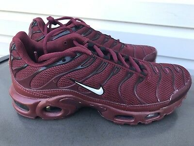 huge discount c97ef a6d65 NIKE AIR MAX Plus TN Tuned 1 Team Red Burgundy Men's Size 12 852630-602
