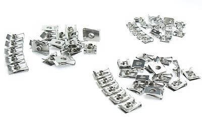 Fairing clips spring nuts clamps M4 M5 M6 Bike Car Motorcyle stainless steel V2A
