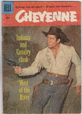 Cheyenne #2 Four Color #772 (Dell) Clint Walker - Photo Cover