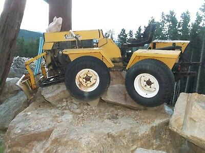 twister articulated tractor