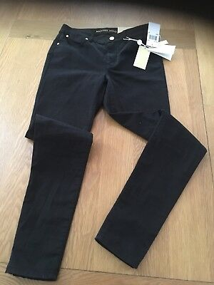 "2616cd2077d3 ... Mid Rise Cropped Jeans Trousers Uk 6 24"" US 2."