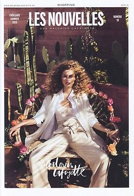 GALERIES LAFAYETTE Magazin Werbung Mode Shopping Prospekt Brochure 2018 64