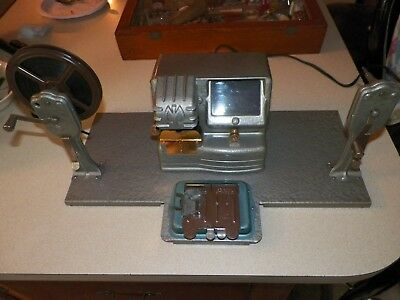 Vintage Mansfield 8mm Movie Film Editor Model 950 8mm and 16mm Splicer Excellent