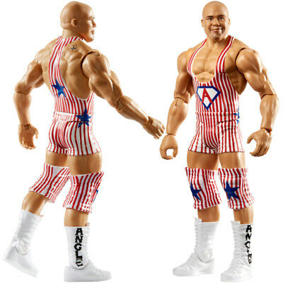 SummerSlam 2018 WWF WWE Kurt Angle Wrestling Action Figure Kid Youth Mattel Toy