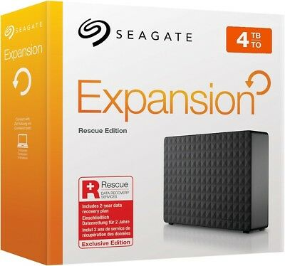 seagate expansion desktop 4tb rescue