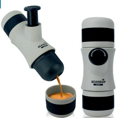 Mini Portable Expresso Coffee Machine ABS BeansUp by Aimex