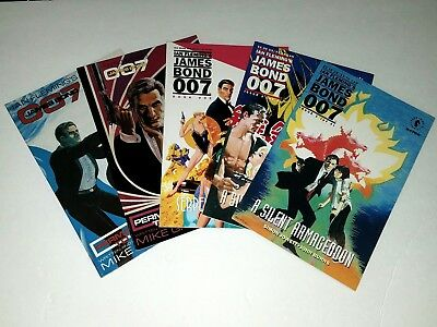 James Bond 007: Permission to Die, Serpent's Tooth, A Silent Armageddon lot of 5