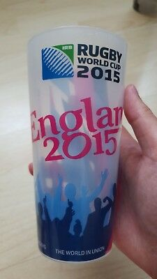 England Rugby World Cup 2015 Plastic Pint Cup