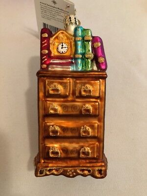 Christopher Radko 2001 Well Dressed Drawers