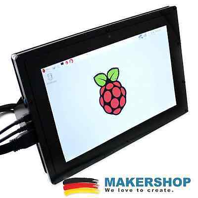Waveshare 10.1inch (B) LCD Touch 1280x800 HDMI IPS Farbdisplay TFT Gehäuse Ra...