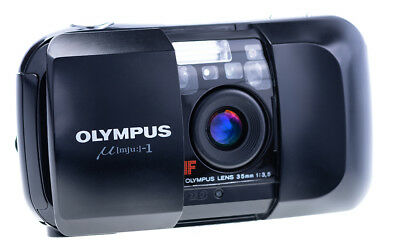 Olympus Mju I 35 mm f 3,5 Point and Shot Camera Tested / Working Infinity Stylus