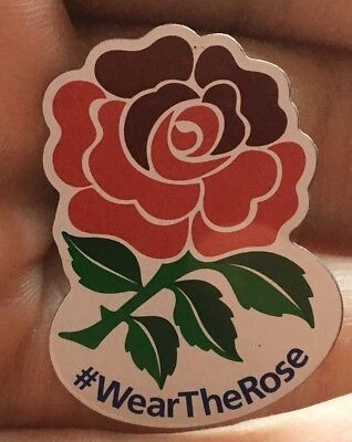 England Rugby Union Pin Badge - #WearTheRose