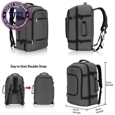 136d1cb8e97a Hynes Eagle Travel Backpack 40L Flight Approved Carry On Backpack
