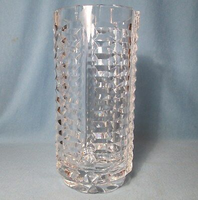 Waterford Crystal Vase Vintage Signed Cut Glass 5577 Picclick