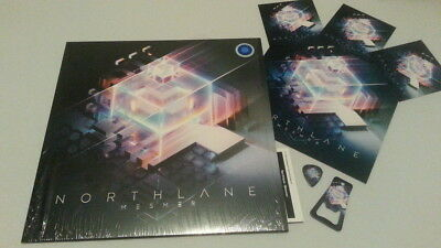 Northlane Mesmer Vinyl Clear/Blue/Splatter +Sticker+Bottle Opener+Plectron+ DLC