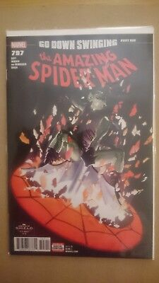 Amazing Spider-Man #797 Alex Ross Cover  / 2018 Marvel Red Goblin