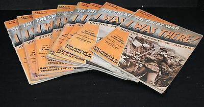 Twelve Original Copies of 'The Great War' I was There -from 1938