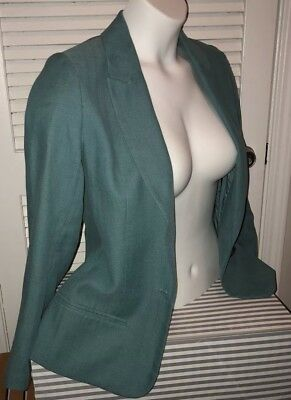 Rachel Zoe Green Single Button Blazer (with lining)- Excellent Condition (EUC)
