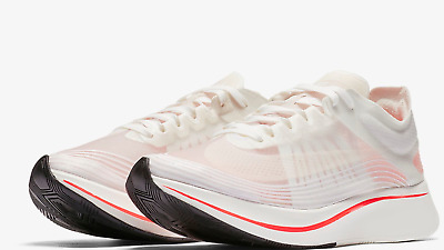 414c1860fa9b3 WOMENS NIKE ZOOM Fly SP AJ8229-106 White Sail Brand New Size 10 ...