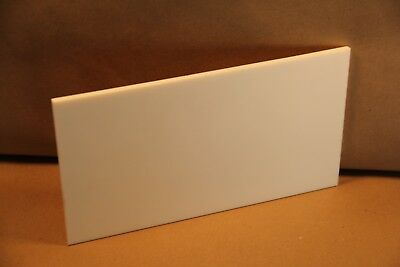 "1/4"" Teflon Block Sheet PTFE Virgin White 6.5""x11.75"" Cnc Plastic 3887"