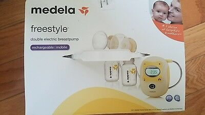 Medela Freestyle Double Electric Breast Pump 67065 Rechargeable Hands Free
