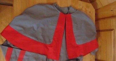 WW1 WW2  QAIMNS nurses cape with full lined red inner all sizes inspired
