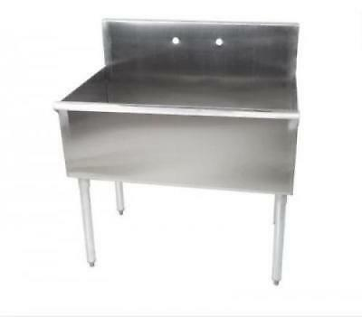 "Commercial Sink 16-Gauge Steel 36"" x 21"" x 14"" Bowl without Drainboard Regency.."