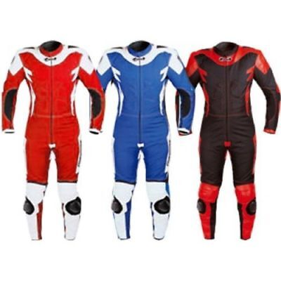 Kids Childrens Motorcycle Mini Moto One Piece Leather and Textile Hard Protector