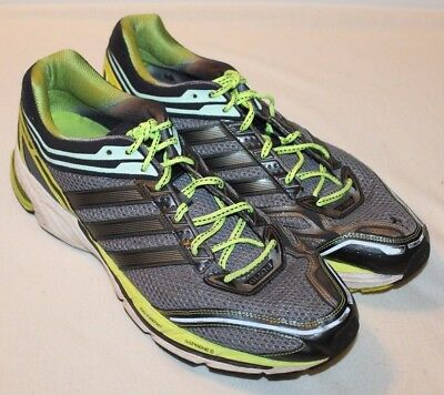 ee47b0ab1 Adidas Mens Supernova Glide Boost ATR Running Shoes Size 18 Green Black  Sneakers