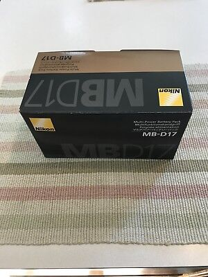 BRAND NEW Nikon MB-D17 Multi-Power Battery Pack for D500 DLSR, in Original Box.