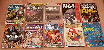 Retro Gamer magazines Bundle COLLECTERS editions 10 Magazines