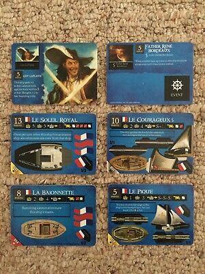 Wizkids Pirates of the Revolution CSG - French Lot 1