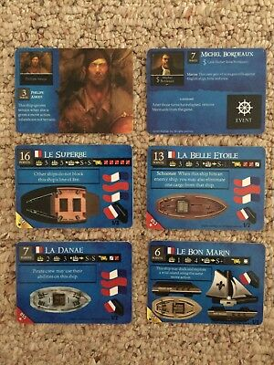 Wizkids Pirates of the Revolution CSG - French Lot 2