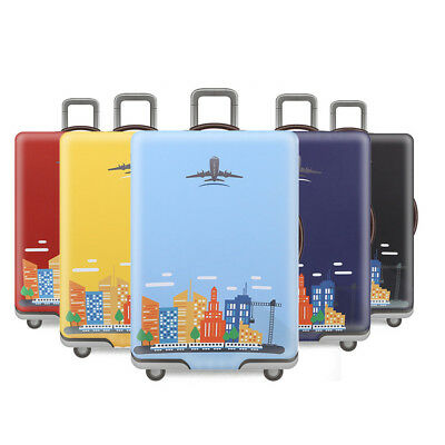 """18-32"""" Thick Elastic Spandex Luggage Suitcase Cover Protector Trunk Case Cover"""