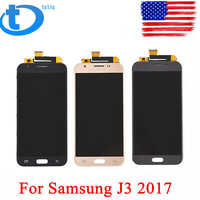 New LCD Touch Screen Digitizer Assembly For Samsung J3 Prime J327 2017 FREE USA