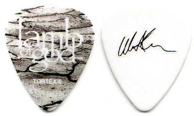 LAMB OF GOD Guitar Pick : 2012 Resolution Tour - Willie Adler signature