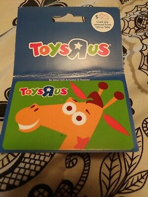 TOYS R US Gift Card - LOT of 2 Different Cards - Collectible / No Cash Value