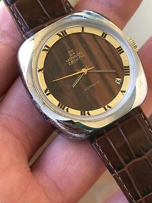 Vintage Watch Orologio Movado Zenith Automatic Cal 2572pc Ultra Rare NOS