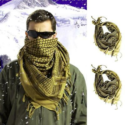 ARMY MILITARY TACTICAL SCARF Mens Womens Survival Airsoft Gear~
