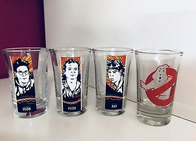 Movie Collections Shot Glass Set, GHOSTBUSTERS