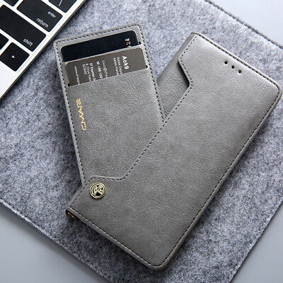 For Huawei P30 Mate 20 P20 Pro Nova 3e Leather Flip Wallet Card Slot Case Cover