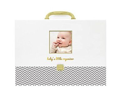 Pearhead Baby Document Organizer - Briefcase File Keeper to Store Baby's Records