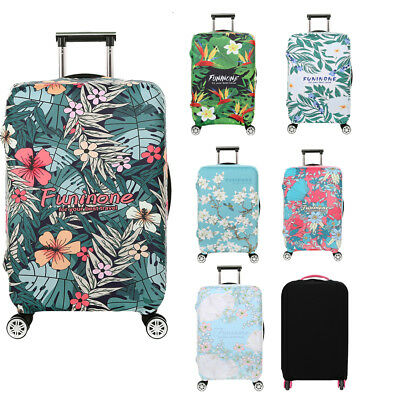 """Elastic Luggage Cover Suitcase Protector Dustproof Case for 18-32"""" Trolley Bag"""