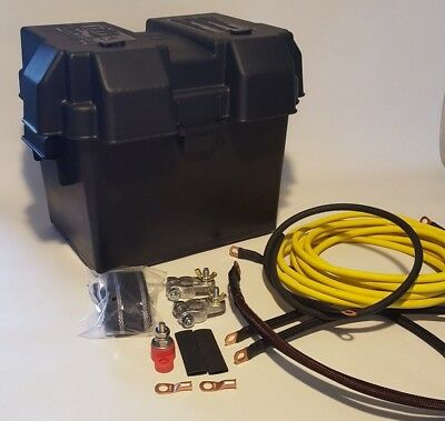 Integra Yellow Battery Relocation k Series Kit with New Grounding Kit