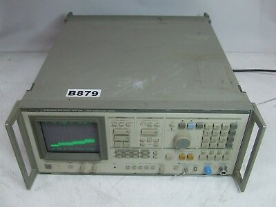 Anritsu MS710B Spectrum Analyzer 10kHz-23GHz / 22-140GHz