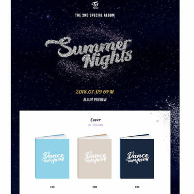 Twice 2Nd Special, Summer Nights Album: Cd+Photocard+Photobook+Tracking, Sealed
