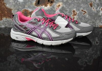 ASICS C744N.9790 Kids Gel-Venture 6 GS Running-Shoes- size 6.5 youth