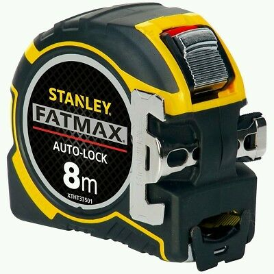 Stanley XTHT0-33501 0-33-501 8m Metre Tape Measure FatMax Autolock METRIC ONLY
