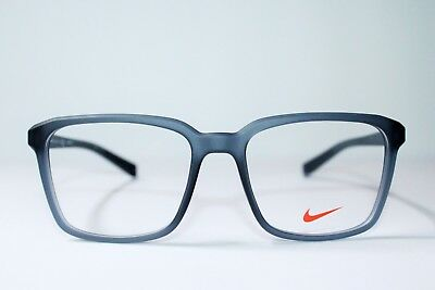 b22776f39c5a Brand New Nike 7096 070 Matte Anthracite Gray Authentic Eyeglasses Rx  53-17-140